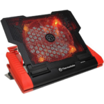 "Base Thermaltake Massive23 GT Black Con Ventilador Led Rojo Para Laptop De 10"" a 17"" CLN0019"
