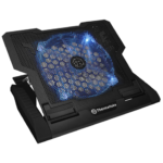 "Base Thermaltake Massive23 GT Black Con Ventilador Led Azul Para Laptop De 10"" a 17"" CLN0020"