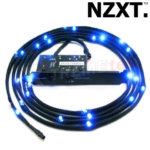 Kit NZXT Sleeved Cable Led Azul 2 Metros CB-LED20-BU