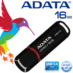 Memoria Flash USB 3.0 Adata UV150 16 GB Negra (AUV150-16G-RBK)