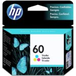 Cartucho HP Num 60 Tricolor 4ML CC643WL