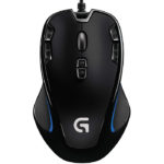 Mouse Logitech Alambrico Optico USB G300S Gaming 910-004344