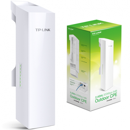 Access Point Tp-Link CPE210 2.4 GHz 300 Mbps Pharos Externo