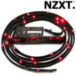 Kit NZXT Sleeved Cable Led Rojo 2 Metros CB-LED20-RD
