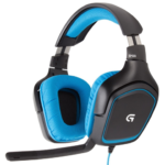 Diadema Logitech G430 USB 7.1 Surround Gaming 981-000551
