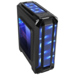 Gabinete Eagle Warrior Robot Q Gaming 3 Ventiladores USB 3.0 Led Azul