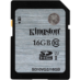 Memoria SD 16 GB Kingston SDHC/SDXC Clase 10 SD10VG2/16GB