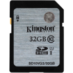 Memoria SD 32 GB Kingston SDHC/SDXC Clase 10 SD10VG2/32GB