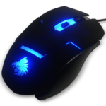Mouse Eagle Warrior Alambrico Optico USB G13 Iluminado 2400 DPI
