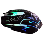 Mouse Eagle Warrior Alambrico Optico USB G16 Iluminado 2400 DPI