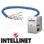Cable Bobina Intellinet Cat 5e UTP 305 Metro Color Azul 362344