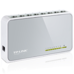 Switch 8 Puertos Tp-Link 10/100 Mbps TL-SF1008D Plug & Play