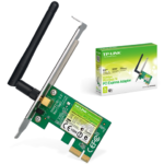 Tarjeta De Red PCI-E 1x Inalambrica Tp-Link TL-WN781ND 150 Mbps