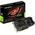 Tarjeta De Vídeo Nvidia Gigabyte GTX 1050 Ti Windforce OC 4G GeForce 4GB GDDR5 PCI-E (GV-N105TWF2OC-4GD)