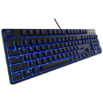 Teclado Steelseries Alambrico USB M500 Mecanico Switch Rojo Y Led Azul 64490