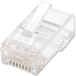Plug Bote 100 Piezas Conector RJ45 Intellinet Cable UTP Cat6 502344