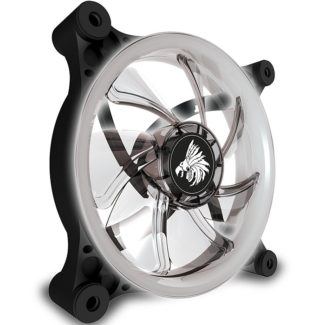 Ventilador Eagle Warrior 120mm Aurora LED Blanco Retroiluminado ACLFAURORA00EGW