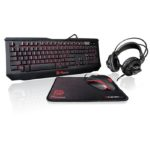 Kit Teclado Mouse Diadema y MousePad Thermaltake KNUCKER