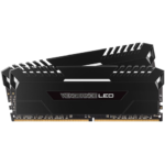 Memorias Ram DDR4 Corsair Vengeance LED Blanco 3000MHz 16GB PC4-24000 Kit 2x8 Negras CMU16GX4M2C3000C15