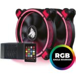 Kit Eagle Warrior 2 Ventiladores 120mm Led RING RGB