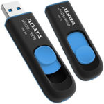 Memoria Flash USB 3.0 Adata UV128 16 GB Negro-Azul AUV128-16G-RBE