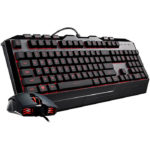 Kit Teclado Y Mouse Cooler Master Devastator III RGB Led Multicolor Alambrico USB Gamer SGB-3000-KKMF1-SP