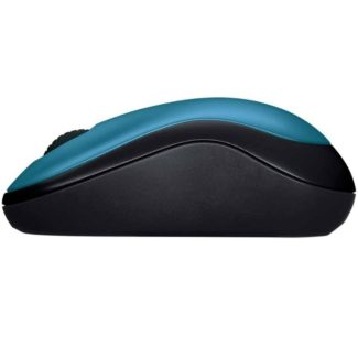 Mouse Logitech Inalambrico Optico USB Azul M185 910-003636