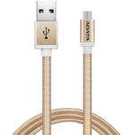 Cable USB A Micro-USB B Adata Dorado Android Windows 1 Metro AMUCAL-100CMK-CGD