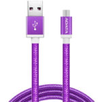 Cable USB A Micro-USB B Adata Morado Android Windows