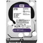 Disco Duro 3.5 Western Digital Purple Surveillance 2TB SATA 3 64MB WD WD20PURZ