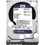 Disco Duro 3.5 Western Digital Purple Surveillance 6TB SATA 3 64MB WD WD60PURZ
