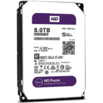 Disco Duro 3.5 Western Digital Purple Surveillance 8TB SATA 3 128MB WD WD80PURZV
