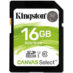 Memoria SD 16GB Kingston SDHC Clase 10 Canvas Select SDS/16GB