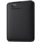 Disco Duro Externo Western Digital Elements Portatil 1TB Negro USB 3.0 WDBUZG0010BBK-WESN