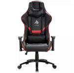 Silla Eagle Warrior Valhalla Gaming Reclinable Negro-Rojo GCH3D60REDEGW