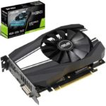 Tarjeta De Video Nvidia Asus Phoenix GTX 1660 Ti OC 6GB GDDR6 GeForce PH-GTX1660TI-O6G
