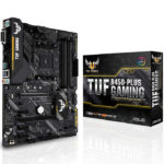 Tarjeta Madre ASUS TUF B450-PLUS GAMING AURA 4xDDR4 PCI-E USB3 Socket AM4
