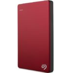 Disco Duro Externo Seagate Backup Plus Slim 1TB Portatil Rojo USB3.0 STDR1000103