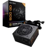 Fuente De Poder EVGA 500 GD 500W 80 PLUS GOLD 100-GD-0500-V1