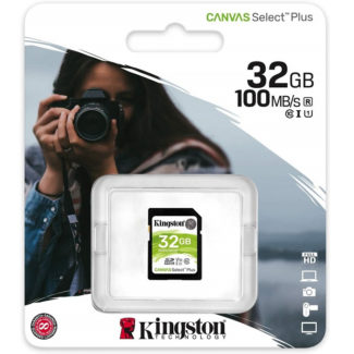 Memoria SD 32GB Kingston SDHC Clase 10 Canvas Select Plus SDS2/32GB
