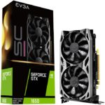 Tarjeta De Video Nvidia EVGA GTX 1650 SC ULTRA GDDR6 GAMING 4GB GeForce 04G-P4-1257-KR