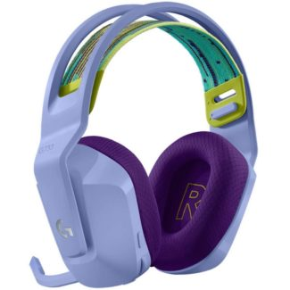 Diadema Logitech G733 LIGHTSPEED RGB Gaming Headset USB Wireless Inalambricos Lila 981-000889