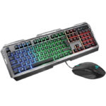 Kit Teclado Y Mouse YeYian PHOENIX 3000 Retroiluminado LED USB Gaming YKP-20706