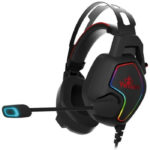 Diadema YeYian VICIOUS Serie 3000 LED Microfono Gaming Headset 3.5mm YDV-33403