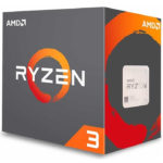 Procesador AMD Ryzen 3 4350G QuadCore 3.8GHz 6MB Socket AM4 100-100000148MPK
