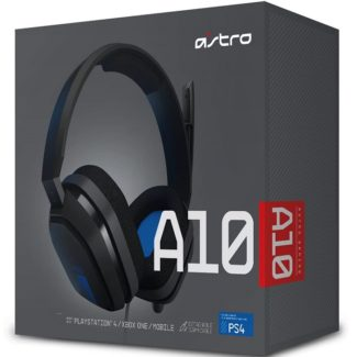 Diadema ASTRO A10 Para PS4 3.5mm Gaming Negro-Azul 939-001594
